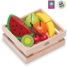 """Игровой набор Wonderworld """"Фрукты и ягоды"""" для нарезки, в ящике"""