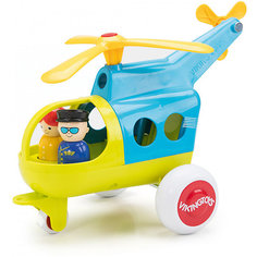 "Вертолёт Viking Toys ""Fun Color"" с двумя фигурками, 30 см"
