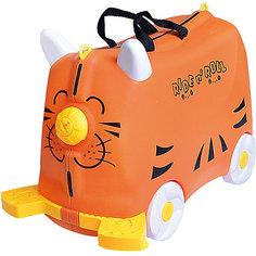Чемодан на колесиках Ride nRoll, оранжевый