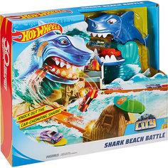 "Игровой набор Hot Wheels ""Сити"" Схватка с акулой Mattel"