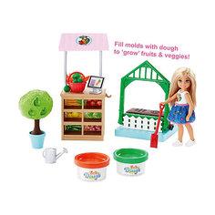 Игровой набор с куклой Barbie Овощной сад Челси Mattel