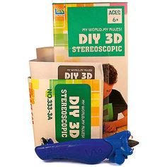 "3Д ручка DIY 3D Stereoscopic ""3D Magic Glue"" Машинка, 1 ручка"
