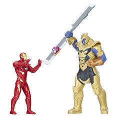 """Игровой набор Avengers """"Мстители"""" Железный человек против Таноса Hasbro"""