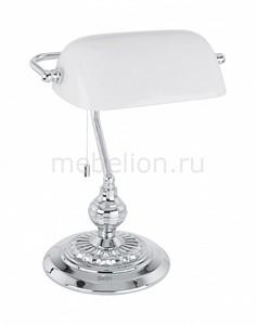Настольная лампа декоративная BANKER 90968 Eglo