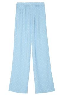 Голубые брюки в горох Essentiel Antwerp