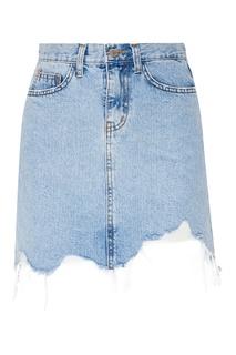 Джинсовая юбка-мини D.O.T.127