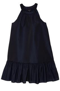 Короткое синее платье Tara Jarmon