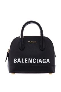Черная микросумка Ville Top Handle XXS Balenciaga