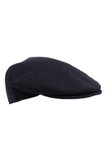 Темно-синяя кепка из шерсти Kiton