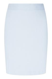 Голубая юбка из хлопка D.O.T.127