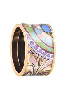 Позолоченное кольцо с эмалью Freywille