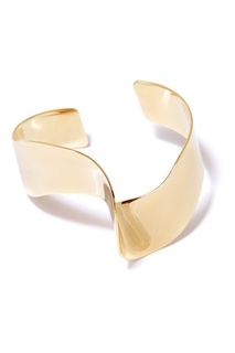 Золотистый изогнутый браслет Lisa Smith