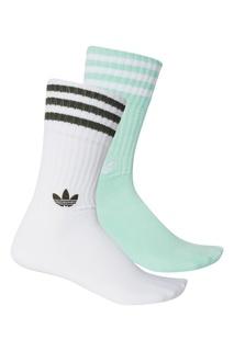 Зеленые носки Adidas