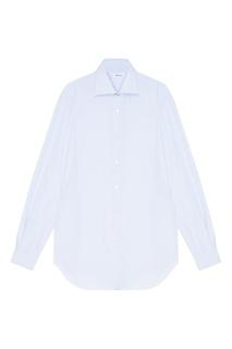 Рубашка в голубую полоску Kiton