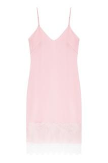 Розовое платье на бретелях The Dress