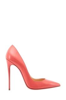 Лакированные розовые туфли So Kate 120 Christian Louboutin