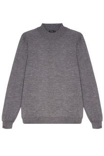 Серый свитер с кашемиром Kiton