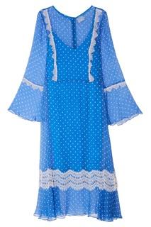 Двойное голубое платье The Dress