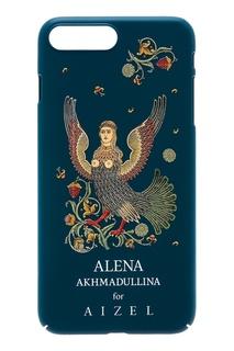 Зеленый чехол для iPhone 7/8 Plus by Alena Akhmadullina Russian Essentials
