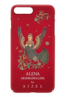 Красный чехол для iPhone 7/8 Plus by Alena Akhmadullina Russian Essentials