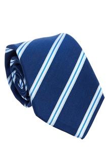 Фактурный галстук в полоску Kiton