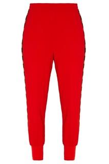 Красные спортивные брюки с лампасами Stella Mc Cartney