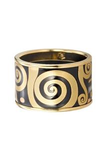 Широкое кольцо с горячей эмалью Freywille
