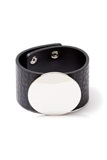 Кожаный браслет с декором Herald Percy