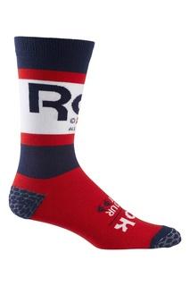 Контрастные спортивные носки Reebok