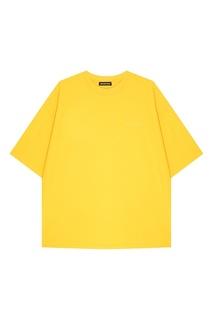 Свободная хлопковая футболка Balenciaga