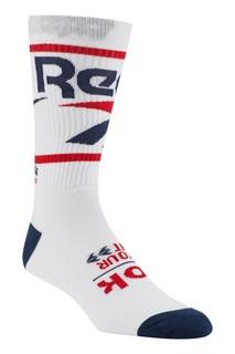 Белые носки с цветной отделкой Reebok
