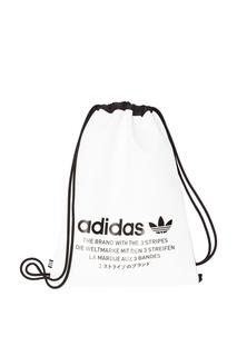 Контрастная текстильная сумка Adidas