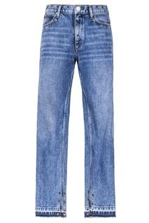 Голубые джинсы Sandro