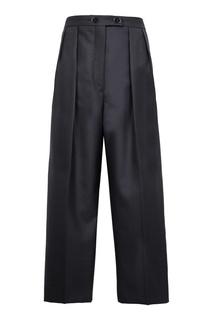 Широкие черные брюки Sandro