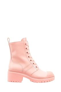 Розовые ботинки на шнуровке Marc Jacobs