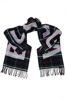 Шерстяной шарф в клетку Balenciaga