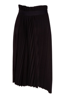 Черная юбка-плиссе Balenciaga