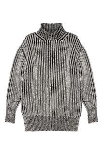 Шерстяной свитер с контрастной отделкой Balenciaga