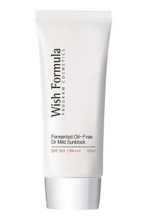 Солнцезащитный крем SPF 50 / Fermented Oil Free Dr Mild Sun Block SPF50+/PA+++, 65ml Wish Formula