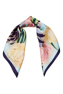 Шелковый платок с цветами Freywille