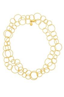 Золотистая цепочка с крупными звеньями Freywille