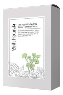 Тканевая ферментированная питательная маска-сыворотка Centella Honey, 26 ml x 10 шт. Wish Formula