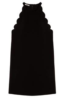 Короткое черное платье Miu Miu