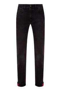 Черные прямые джинсы Gucci