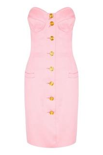 Розовое мини-платье (80е гг) Escada by Margaretha Ley Vintage