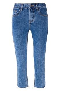 Синие джинсы с обрезанными краями D.O.T.127