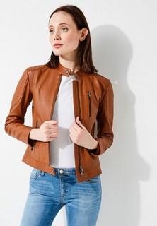 Куртка кожаная Emporio Armani