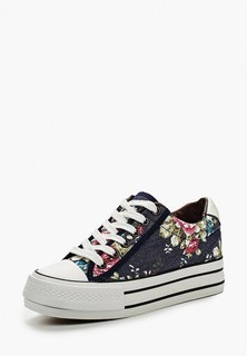 Кеды на танкетке Ideal Shoes