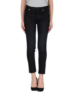 Джинсовые брюки-капри Golden Goose Deluxe Brand