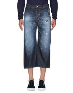 Джинсовые брюки-капри Aglini